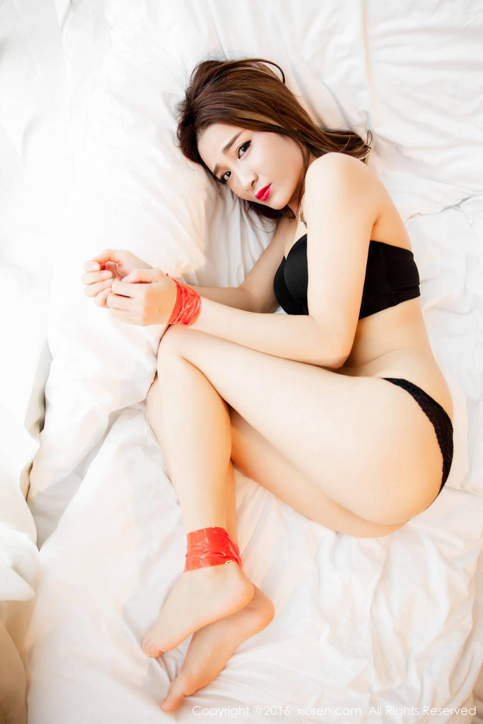 秀人網美女模特梁瑩Sugar捆綁SM情趣誘惑【24】 - 美女 - 億圖全景圖庫