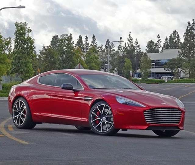 The  Aston Martin Rapide S Is One Of The Most Beautiful Cars Ive Ever Driven I Mean Seriously Give It A Good Long Look