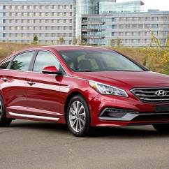 All New Toyota Camry Thailand 2.5 G Midsize Sedan Comparison: 2015 Hyundai Sonata - Kelley ...