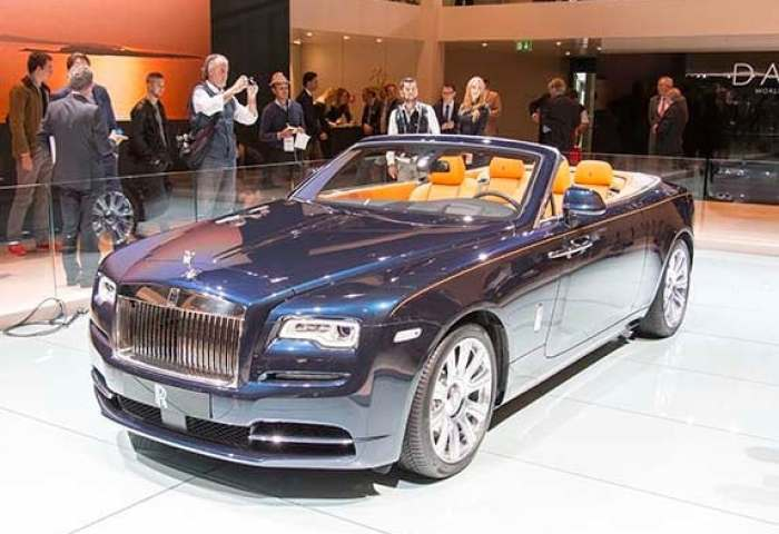 2016 Rolls Royce Dawn Unveiled Kelley Blue Book