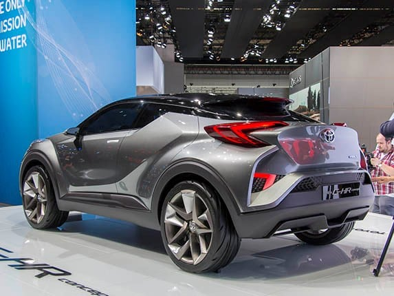 Toyota C HR Concept Nears Production Kelley Blue Book