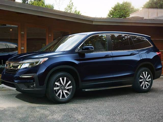 2019 Honda Pilot EX New Car Prices Kelley Blue Book
