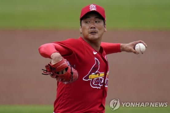 김광현, 허리 통증으로 투구 중단 … MLB 시즌 첫 출연이 늦어 질 것 같다 (전체)