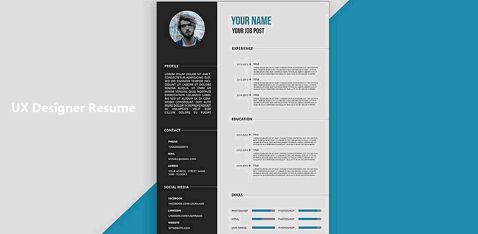 examples of designer resumes