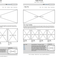 Website Wireframe Diagram Example York Heat Pump Package Unit Wiring Vs Mockup Prototype What 39s The Difference