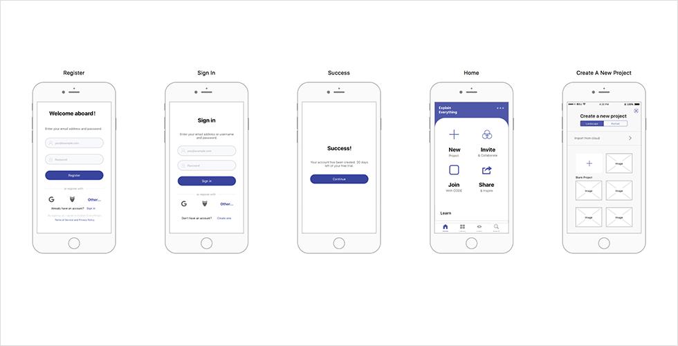 Mockplus Sample Design