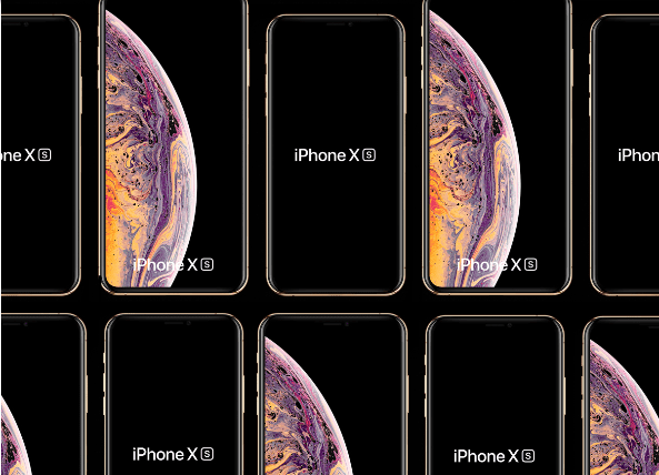 Free Apple New 2018 iPhone Xs Max and iPhone Xs Mockups PSD