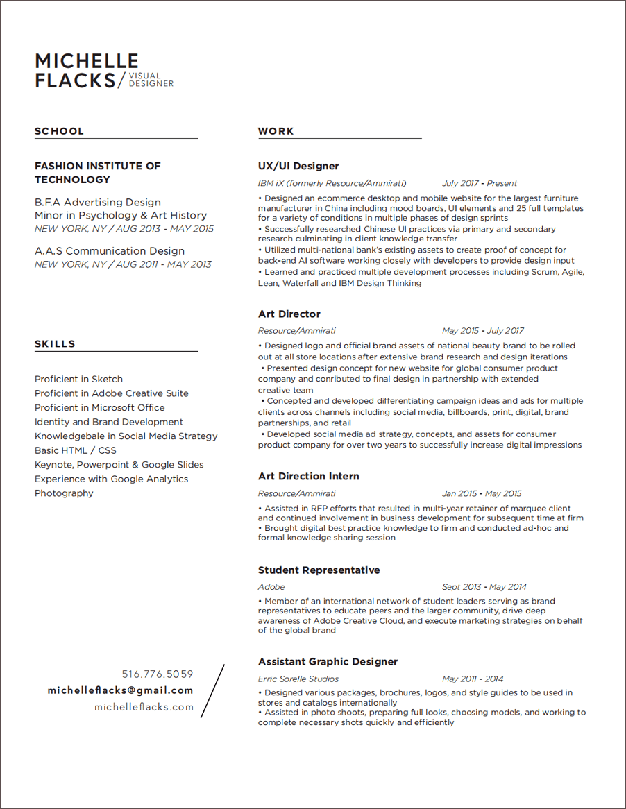 Example Of Resume With Working Experience 17 Best Free Ui Designer Resume Samples And Templates