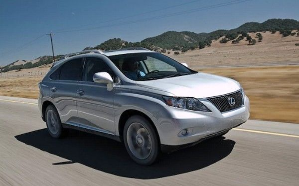 2010 Lexus RX 350 on the road