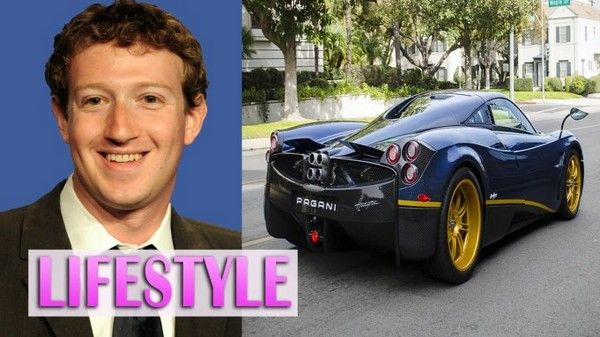 Zuckerberg  and his car