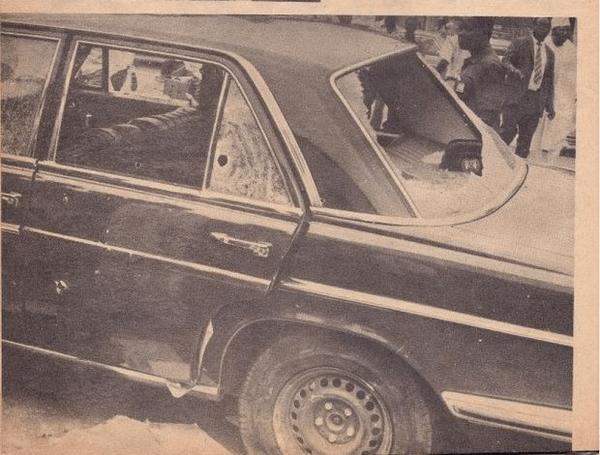 Murtala Mohammed's Mercedes-Benz