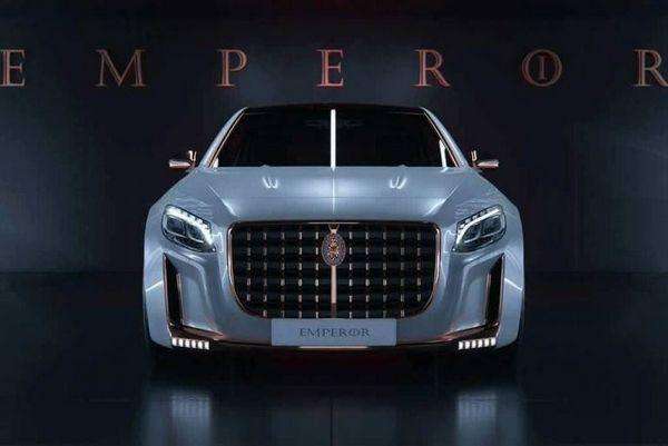 Mercedes Maybach S600 Emperor 2016 front view
