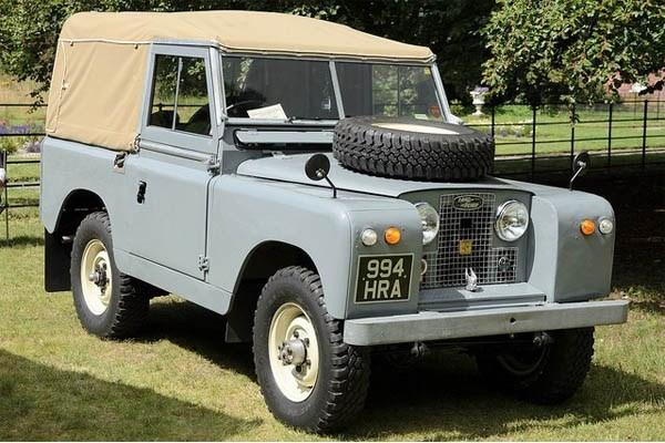 Land Rover 1958