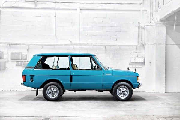 First - gen Range Rover Commercial - 1970
