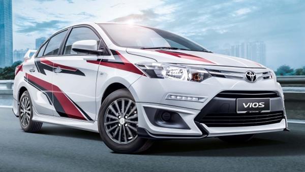 Toyota Vios angular front
