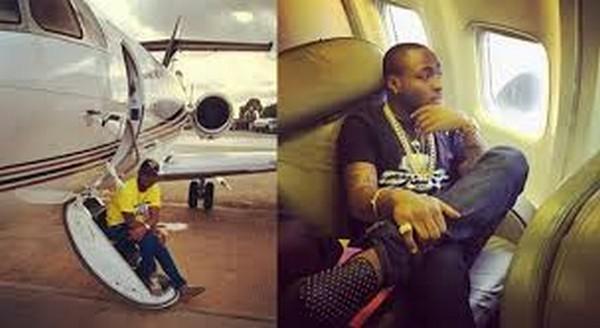 Davido's Father's Private Jet