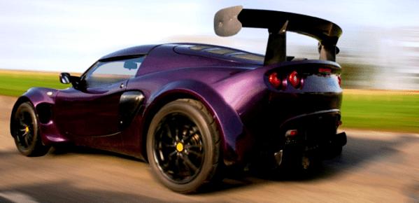 a modified car