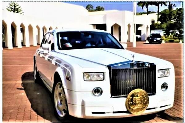 custom built Rolls Royce Phantom