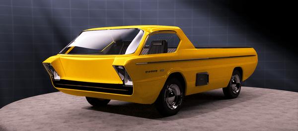 Dodge Deora concept car