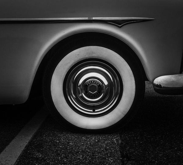 a white car tire