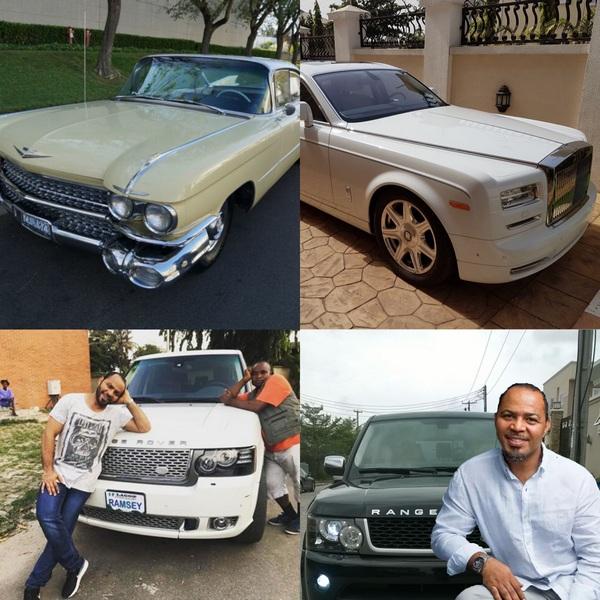 Ramsey-Nouah-car-collection
