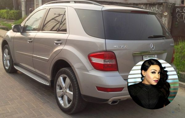 Rita-Dominic-and-her-Mercedes-Benz-ML-350