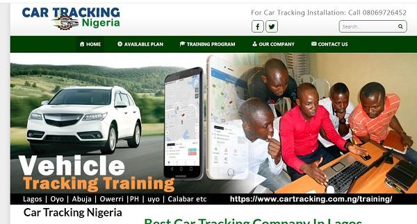car-tracking-website