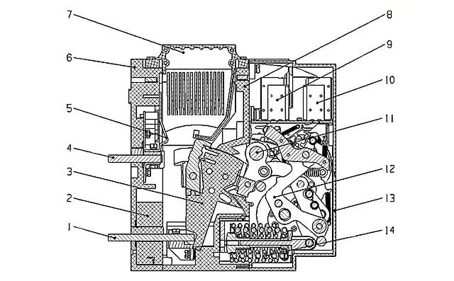 Fault diagnosis and maintenance of air circuit breaker