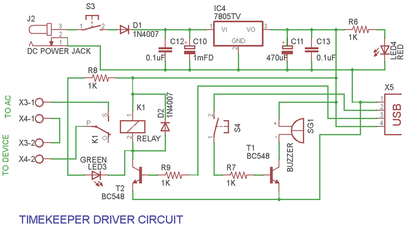 hight resolution of a versatile industrial timer and real time keeper circuit diagram of the driver circuit