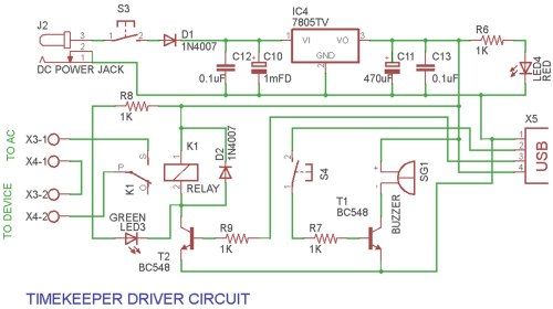 small resolution of a versatile industrial timer and real time keeper circuit diagram of the driver circuit
