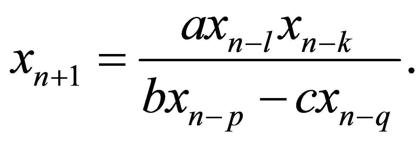 On the Solutions of Difference Equation Systems with
