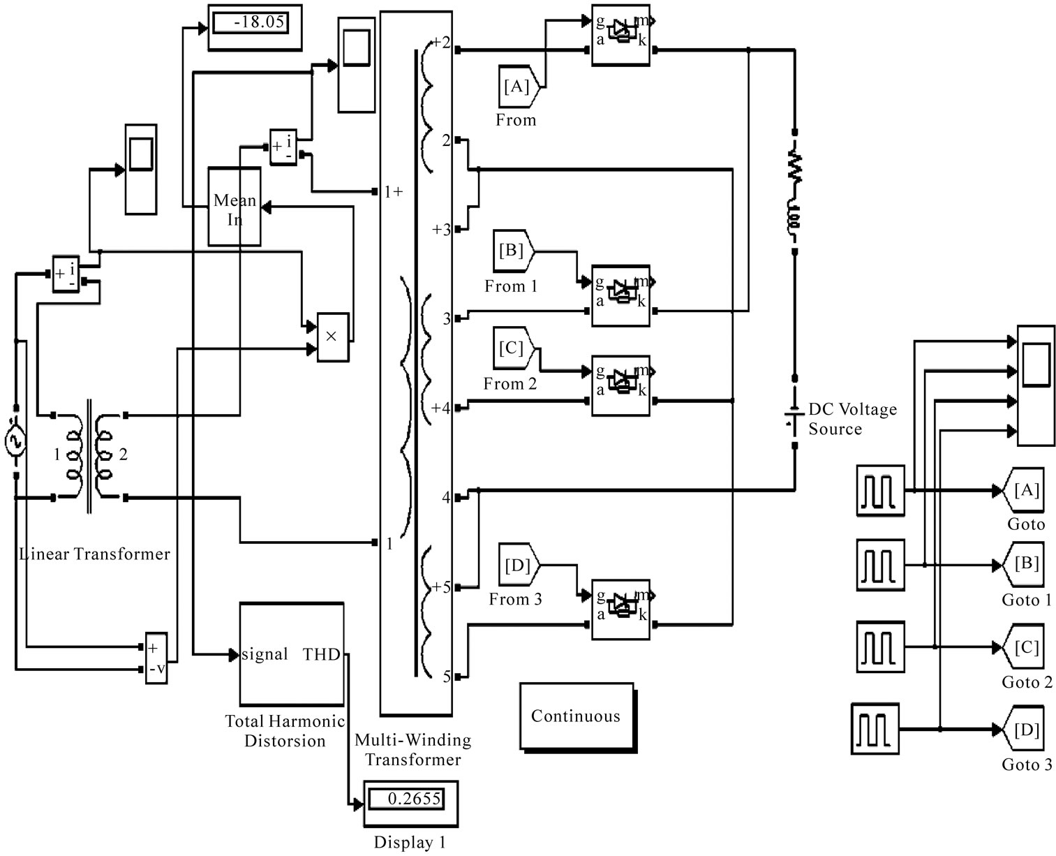 Simulation Andysis Of A Multilevel Converter Topology