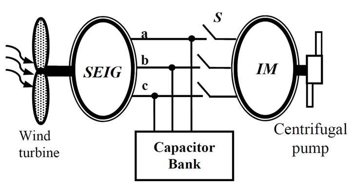 Investigation on the Excitation Capacitor for a Wind