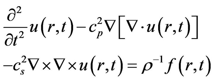 Towards a Mathematical Model for Elastic Wave Propagation