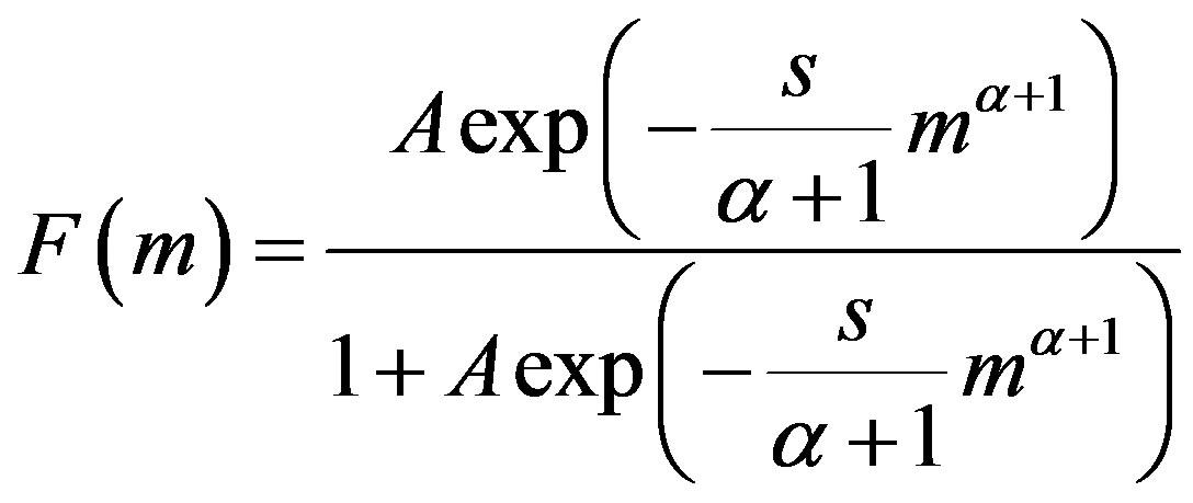 Derivation of the Gutenberg-Richter empirical formula from
