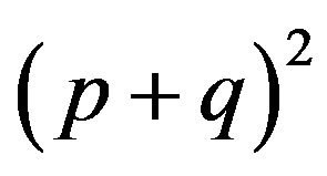 About one form of writing of the Hardy-Weinberg law