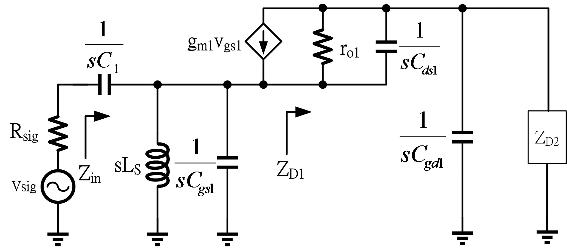 Design Of Low Power Cmos Lna With Current Reused And Notch