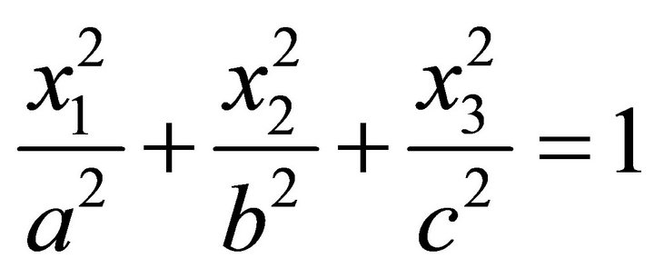 On the Ellipsoid and Plane Intersection Equation