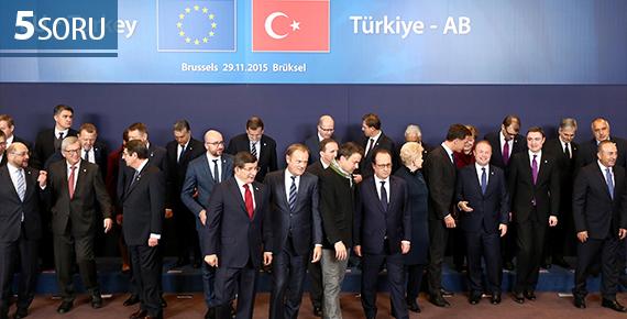 5 Soru: 29 Kasım Türkiye-AB Zirvesi ve Vize Serbestisi Süreci