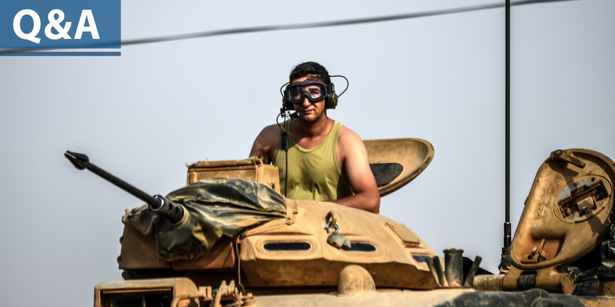 5 Questions: Operation Euphrates Shield