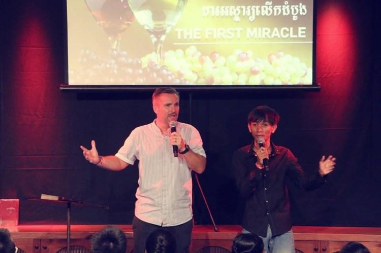 ICF Cambodia 教堂志工组织