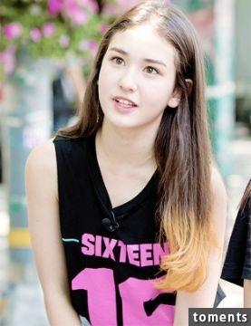 周子瑜有對手了! 混血超正妹選秀爆氣,性感到讓人不敢相信她只有十四歲!
