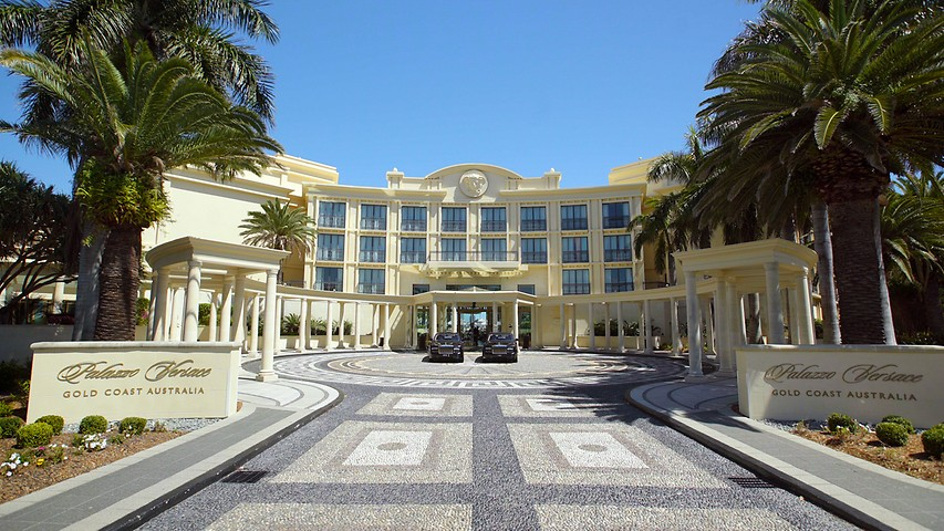 Gold Coast Luxurious 5 Star Hotel Palazzo Versace Gold Coast