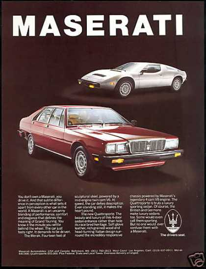 Vintage Car Advertisements Of The 1980s Page 26