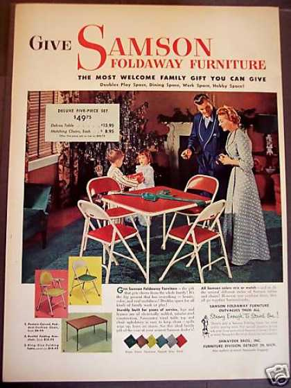 Vintage Furniture Ads of the 1950s Page 6