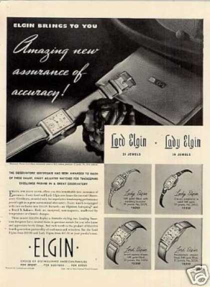 Vintage Jewelry and Watches Ads of the 1940s Page 7