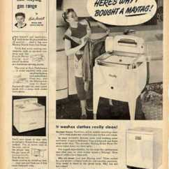 Kitchen Aid Silver Cost Per Linear Foot Cabinets Vintage Household Ads Of The 1950s (page 34)