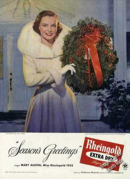 Vintage Xmas Advertisements Of The 1950s Page 6