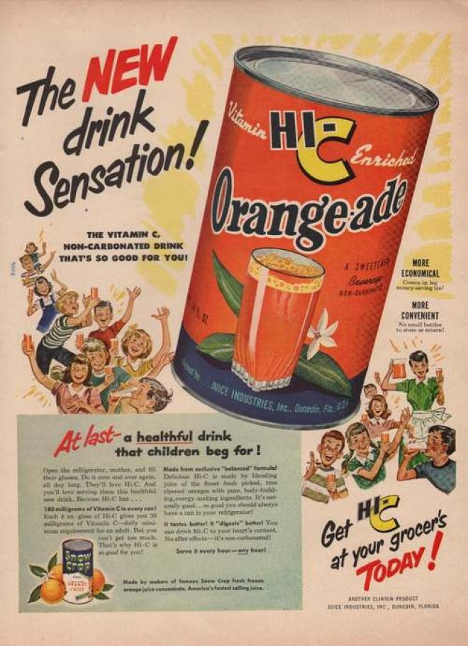 Vintage Drinks Advertisements of the 1940s Page 19