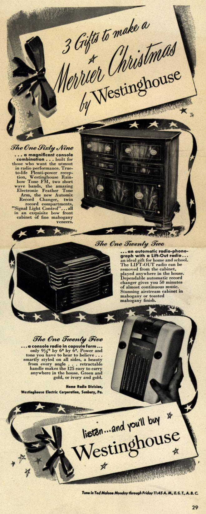 Vintage Xmas Advertisements of the 1940s Page 4